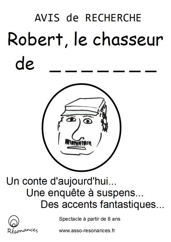 Affiche robert 1